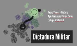 Copia de Dictadura Militar