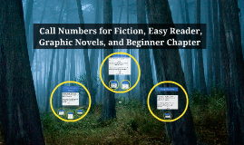 Call Numbers for Fiction, Easy Reader, Graphic Novels, and