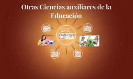 Otras Ciencias auxiliares de la Educación