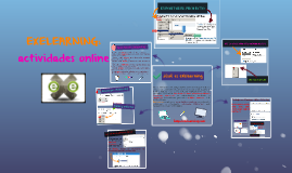 EXELEARNING: actividades online