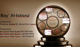 Copy of Bay' Al- Istisna