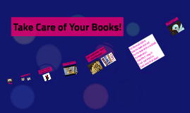 Take Care of Your Books