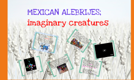 Copy of Mexican Alebrijes; Imaginary Creatures Lesson Plan