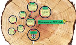 Copy of Bibliography: APA Style
