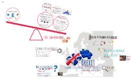 Brexit - Großbritanniens Austritt aus der EU ?!