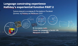 The experiential functional PART 2