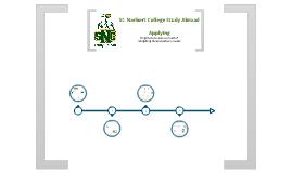SNC Study Abroad: Applying