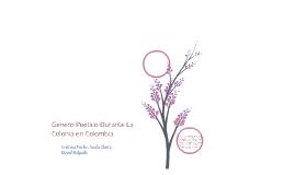 Genero poetico durante la colonia (colombia)