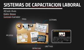 Sistema de capacitación laboral