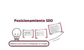 Copy of Posicionamiento - Seo