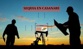 SEQUIA EN CASANARE
