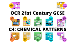 (C4) OCR 21st Century GCSE: Chemical Patterns