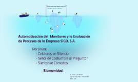 Prototipo de Sistema de Monitoreo de Procesos de la Empresa