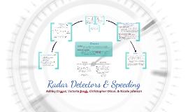 Radar Detectors & Speeding