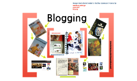 Blogging in Senior School