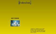 federalism visual