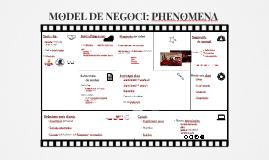 Copy bueno MODELO DE NEGOCIO: PHENOMENA
