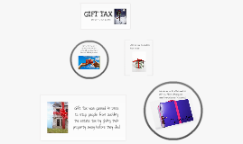 econ, gift tax.