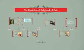 The Evolution of Religion in Britan