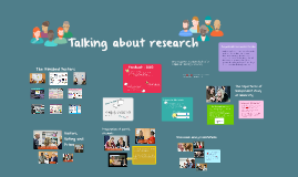 Talking about research