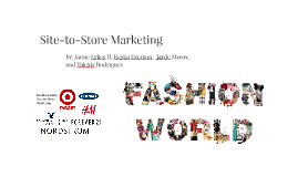 Site-to-Store Marketing