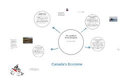 Canada's Ecozone
