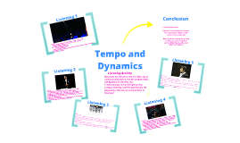 Dynamics and Tempo