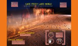 Senior Ancient History: Archaeology at Lake Mungo
