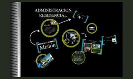 Administración residencial