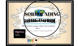SORROUNDING THE WORDL