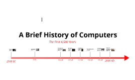 History of Computers - Timeline by Peter Astbury on Prezi