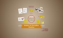 Modelo de Disciplina Positiva