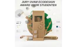 Jury OVAM Ecodesign Award 2017 voor studenten
