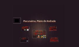 Macunaíma, Mário de Andrade
