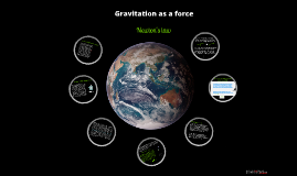 gravitation as a force