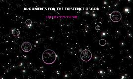 Arguments FOR God's Existence