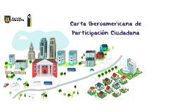Carta Iberoamericana de Participación Ciudadana