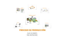 Copy of PROCESO DE PRODUCCION DE CONCRETO