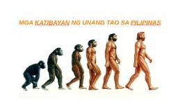 Copy of MGA KATIBAYAN NG UNANG TAO SA PILIPINAS
