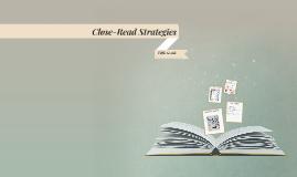Close-Read Strategies