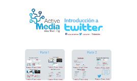 Introducción a Twitter