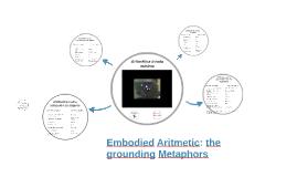 Embodied Aritmetic: the grounding Metaphors