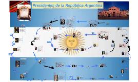 Presidentes de la República Argentina