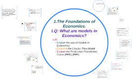 1.The Foundations of Economics.