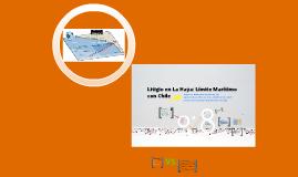 Litigio en La Haya: Límite marítimo con Chile