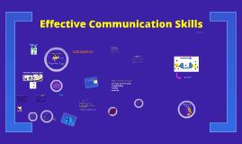 Effective Communication Skills