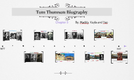 Tom Thomson Biography