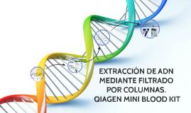 EXTRACCIÓN DE ADN MEDIANTE FILTRADO