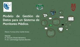 Modelos de Gestión de Datos para un Sistema de Monitoreo Méd