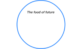 The food of future